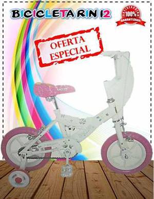 Bicicleta Rin 12 Y 16 Niño Niña Nueva En Su Caja En Oferta