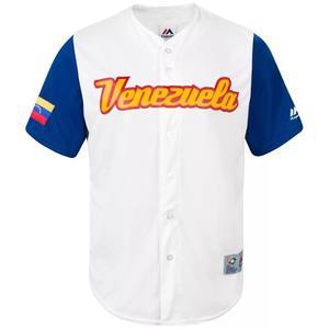 Camisa Venezuela Clasico Mundial Beisbol  Adultos Niños