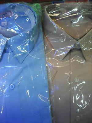 Camisas Blncas.azul Y Beige Escolar.en Oferta