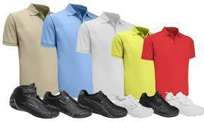 Chemisse y pantalones escolares