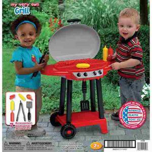 Cocina Parrillera De Juguete Para Niños Made In Usa