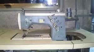 Maquina Industrial Collaretera Marca Rimoldi 3 Agujas 4 Hilo
