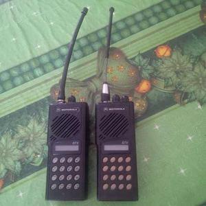 Par De Radios Motorola