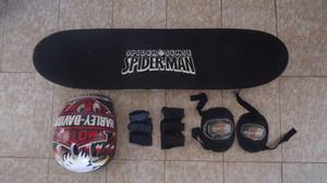 Patineta De Spiderman