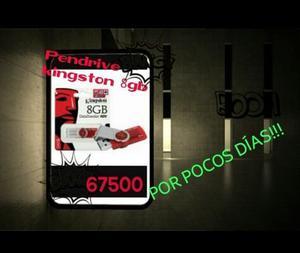 Pendrive Kingston De 8 Gb. Nuevo