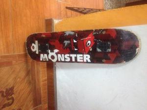 Tabla Skate Monster Poco Uso