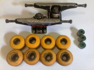 Truck - Ruedas - Rodamientos Skate.