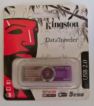 Usb Pendrive Kingston Datatraveler 32gb Original Blister