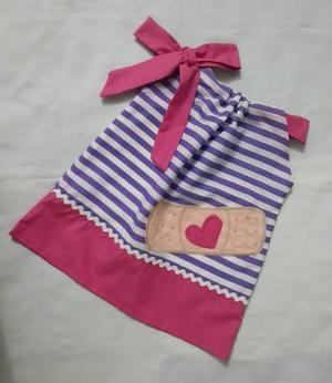 Vestidos Pillowcase De La Doctora Juguetes Para Niña Y Bebe