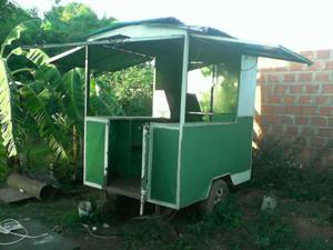 trailer de perros calientes
