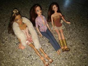 Barbies Usadas En Buen Estado