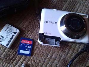 Camara Fujifim Finepix Jv300 + Memoria Sd De 4gb
