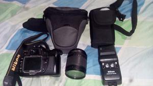 Camara Nikon D80 Profesional Con Lente De mm