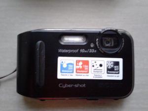Camara Sony Cyber-shot 10mp A Prueba De Agua Y Golpes.