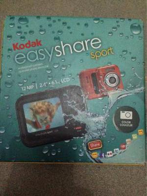 Cámara Kodak Easyshare Sport Antiagua/waterproof 12mp