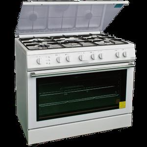 Cocina a gas 6 hornillas encendido electrico posot class for Cocinas a gas nuevas