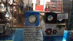 Corneta Portátil Reproductor Mp3 Pendrive Microsd.