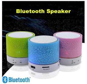 Mini Corneta Bluetooth Inalambrica Led Fm Auxiliar Micro Sd