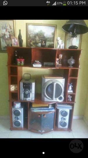 Mueble Modular Tv, Equipo de Sonido