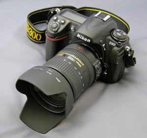 Nikon D300, Con Lente Nikon  Mm - Super Oferta