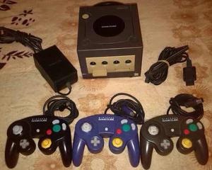 Nintendo Gamecube +3 Controles +1 Memorycard +3 Juegos