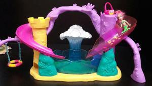 Polly Pocket Sirena Con Parque Acuático