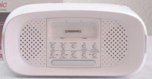 Radio Reloj Despertador Ipod Iphone Sonido Hd