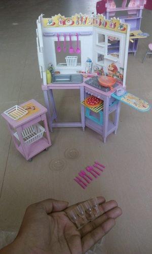 Set De Cocina Para La Barbie Original