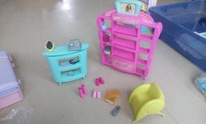 Set De Zapateria De La Barbie Original