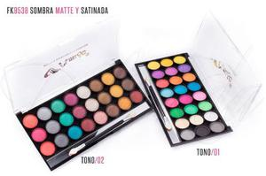 Sombra Matte Y Satinada 24 Color Amuse!! Fk- Mayor/detal