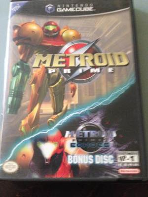 The Metroid Prime Con Echoes Bonus Disc