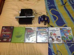 Wii Negro Juegos De Gamecube Zelda