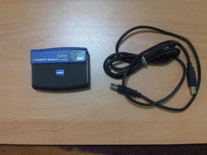 Adaptador WIFI USB Linksys Wusb54g Wirelessg