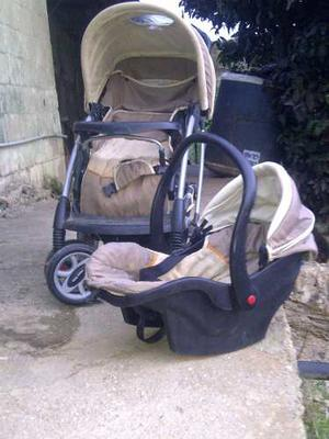 Coche Happy Baby Con Porta Bb Mesedora