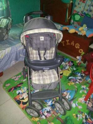 Coche Para Bebé Marca Gracco Con Porta Bebé Y Silla De