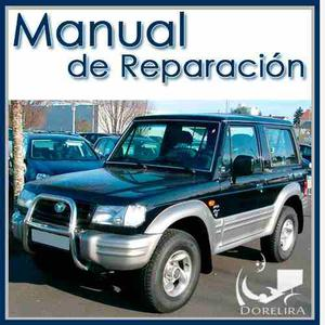 Hyundai Galloper Manual De Reparación Y Servicios
