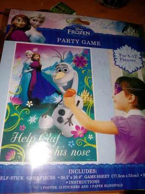 Juego De Fiesta.frozen Y Minnie.coloca El Anillo A Minnie.