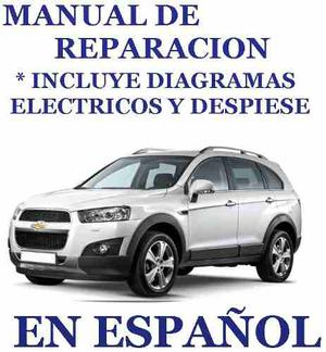 Manual De Taller Y Diagramas Chevrolet Captiva  Pag. !!