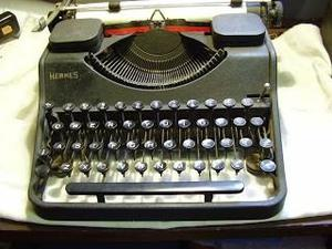 Maquina De Escribir Marca Hermes