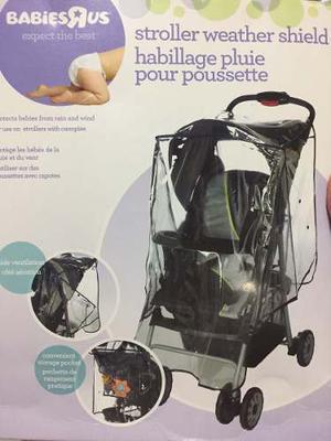 Protector De Lluvia Universal Para Coche De Bebes,importado