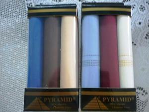 Set Pañuelos Para Caballeros Pyramid En Oferta Aproveche!!!