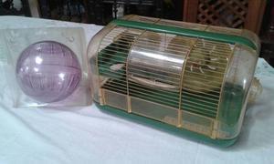 Hábitat Para Hamster Con Todos Los Accesorios