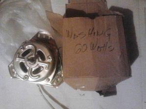 Motor De Lavadora Doble Tina De 60w 110v