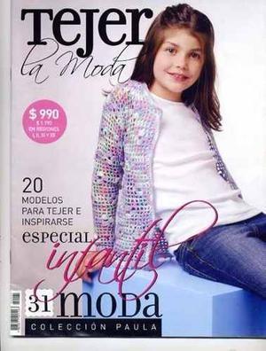 Revista De Tejer Para Niñas Y Niños