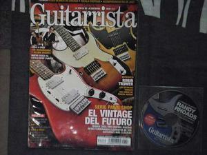 Revista Guitarrista #157 El Vintage Del Futuro
