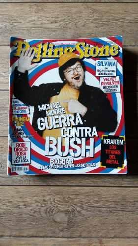 Revistas Rolling Stone: Joe Arroyo / Michael Moore