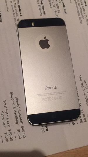 Apple iPhone 5S 16Gb Liberado