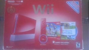 Consola Wii Rojo