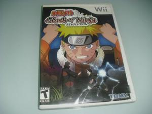 Juego Nintendo Wii Original Naruto Clash Of Ninja Revolution