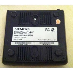 Módem Siemens Speedstream  Aba Cantv